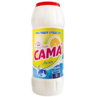 SAMA, 500 g, cleaning agent, Lemon, PET
