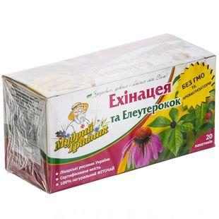 Wise Travnik, 20 pcs, herbal tea, Echinacea and Eleutherococcus