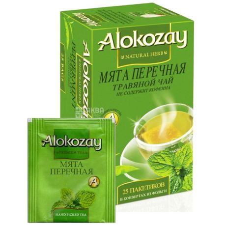 Alokozay, 25 шт., чай трав'яний, М'ята перцева