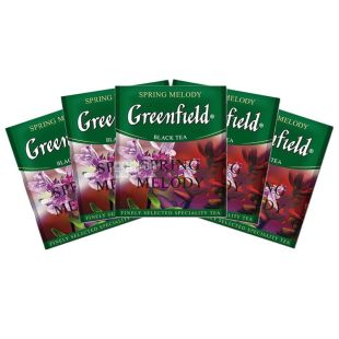 Greenfield, 100 pcs., Black tea, Spring Melody, HoReCa