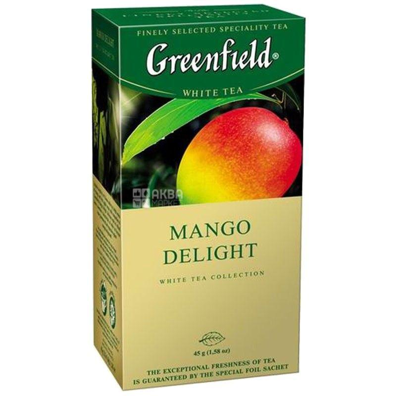 Greenfield, 25 шт., чай зеленый, Mango Delight