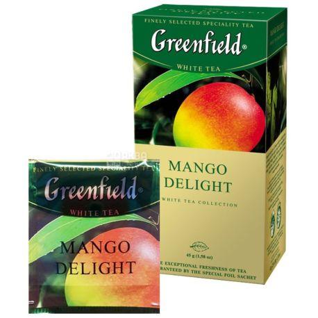 Greenfield, 25 шт., чай зелений, Mango Delight
