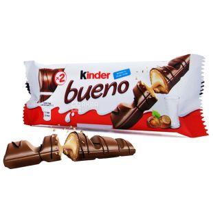Kinder, батончик, шоколадний, Bueno