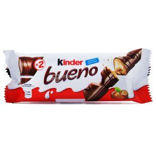 Kinder, батончик, шоколадный, Bueno