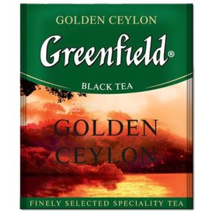 Greenfield, 100 pcs., Black tea, Golden Ceylon, HoReCa