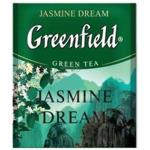 Greenfield, Jasmine Dream, 100 пак., Чай Грінфілд, Жасмин Дрім, зелений з жасмином, HoReCa