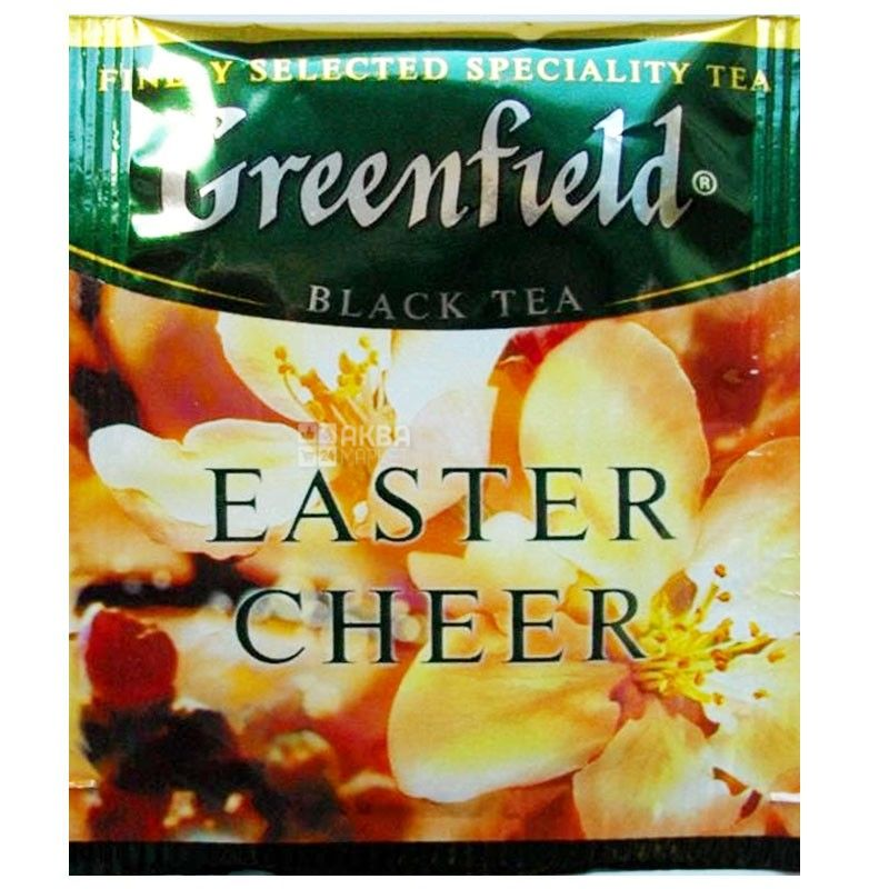 Greenfield, 100 шт., Чай чорний, Easter Cheer, HoReCa