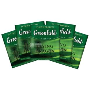 Greenfield, 100 pcs., Green Tea, Flying Dragon, HoReCa