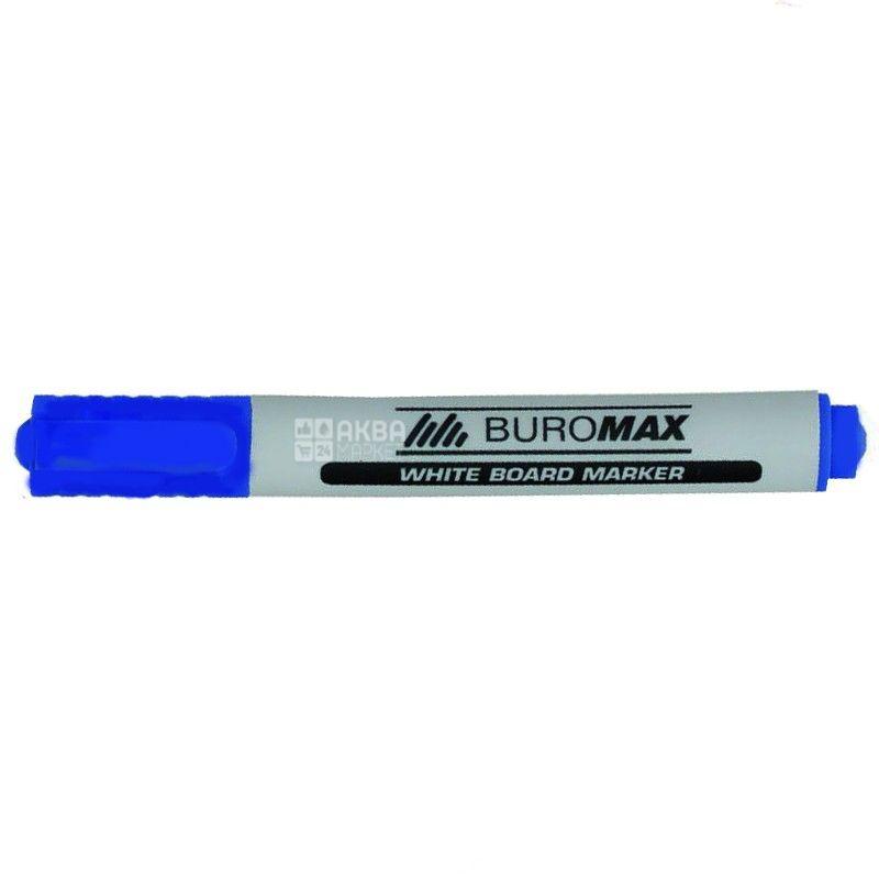 Buromax, Маркер для досок, Синий, 2-4 мм, 1 шт.