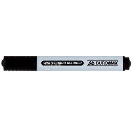 Buromax, Маркер для досок, Черный, 2-4 мм, 1 шт.