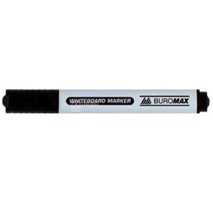 Buromax, Маркер для дошок, Чорний, 2-4 мм, 1 шт.