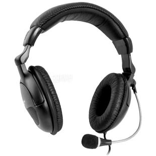 Defender, гарнитура, черная, Orpheus HN-898