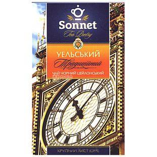 Sonnet, 85 г, чай, черный, Уэльский традиционный