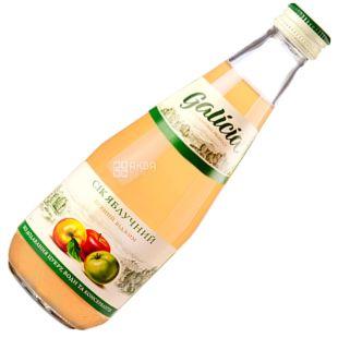 Galicia, 0,3 л, сок, яблочный, стекло