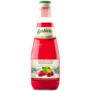 Galicia, 0,3 л, сок, Яблочно-вишневый, стекло