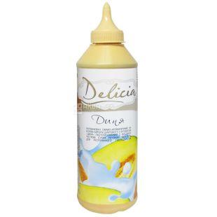Delicia, Дыня, 600 г, Делиция, топпинг с фруктовым ароматом