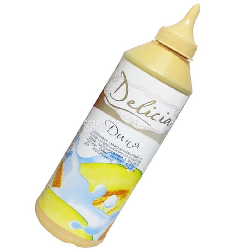 Delicia, Диня, 600 г, Деліція, Топінг з фруктовим ароматом