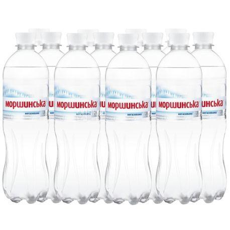 Моршинська, Упаковка 12 шт. по 0,75 л, Вода негазована, ПЕТ