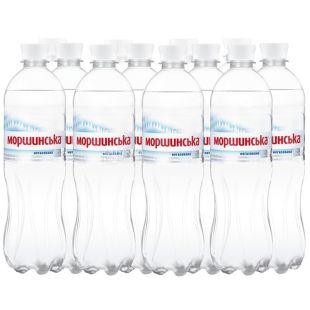 Моршинская, Упаковка 12 шт. по 0,75 л, Вода негазированная, ПЭТ