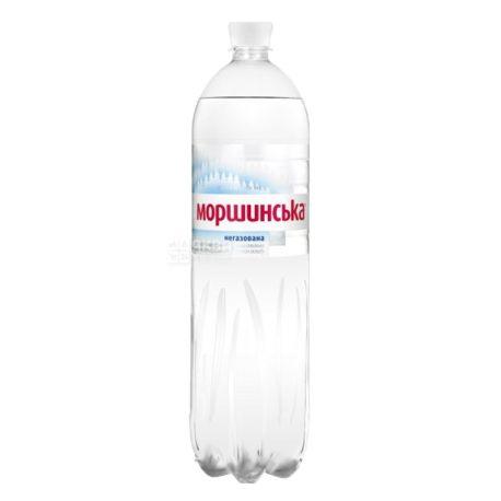 Моршинская, Вода минеральная негазированная, 1,5 л, Упаковка 6 шт., ПЭТ