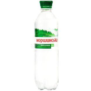 Моршинская, Упаковка 12 шт. по 0,5 л, Вода слабогазированная, ПЭТ
