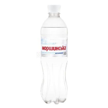 Моршинська, 0,5 л, Упаковка 12 шт., Вода мінеральна негазована, ПЕТ