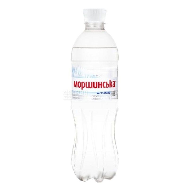 Моршинская, Вода минеральная негазированная, 0,5 л, Упаковка 12 шт., ПЭТ