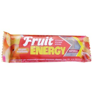 Витапак, 30 г, фруктовий батончик, FRUIT ENERGY, Абрикос