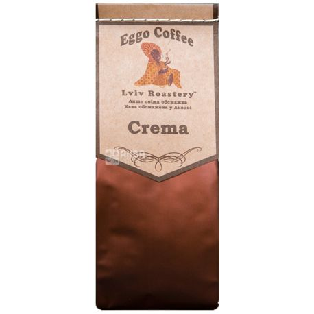 Eggo Coffee Crema, Кава мелена, 200 г