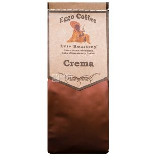 Eggo Coffee, 200 г, кофе, молотый, Crema