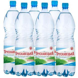 Трускавецкая, упаковка 6 шт. по 1,5 л, негазированная вода, ПЭТ