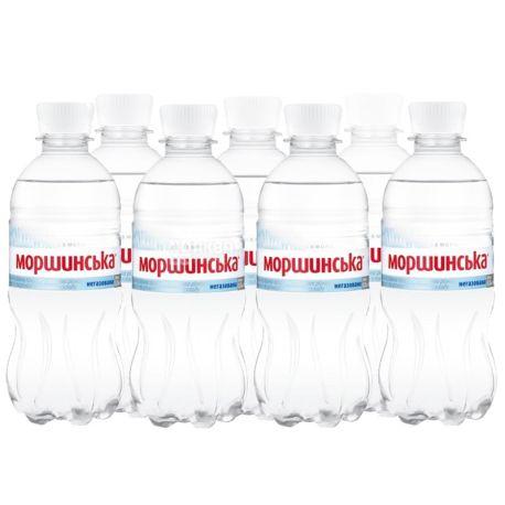 Моршинська, 0,33 л, Упаковка 12 шт., Вода мінеральна негазована, ПЕТ