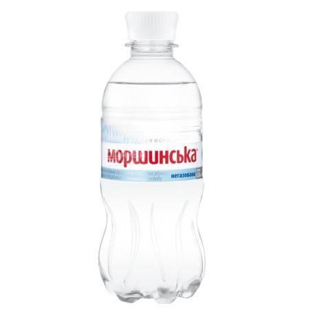 Моршинская, Упаковка 12 шт. по 0,33 л, Вода негазированная, ПЭТ