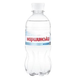 Моршинская, упаковка 12 шт. по 0,33 л, негазированная вода, ПЭТ