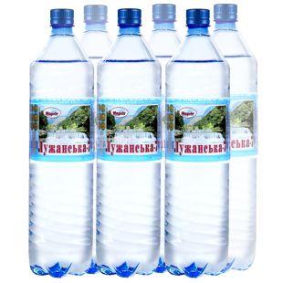 Лужанська-7, 1,5 л, Упаковка 6 шт., Вода мінеральна газована, ПЕТ