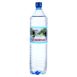 Luzhanskaya-7, Packing 6 pcs. 1.5 l each, Soda water, Mineral, PET, PAT