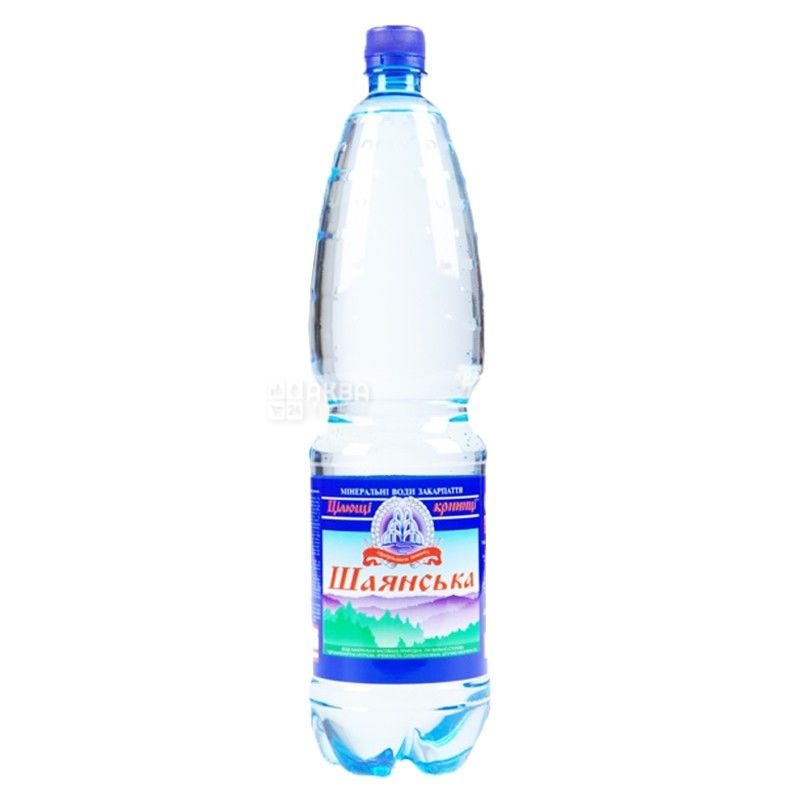 Шаянская, 1,5 л, Упаковка 6 шт., Вода сильногазированная, ПЭТ