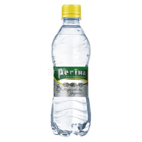 Регіна, 0,33л, Упаковка 12 шт., Вода сильногазована мінеральна, ПЕТ
