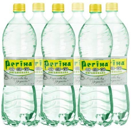 Регина, Упаковка 6 шт. по 1,5 л, Вода негазированная, Минеральная, ПЭТ