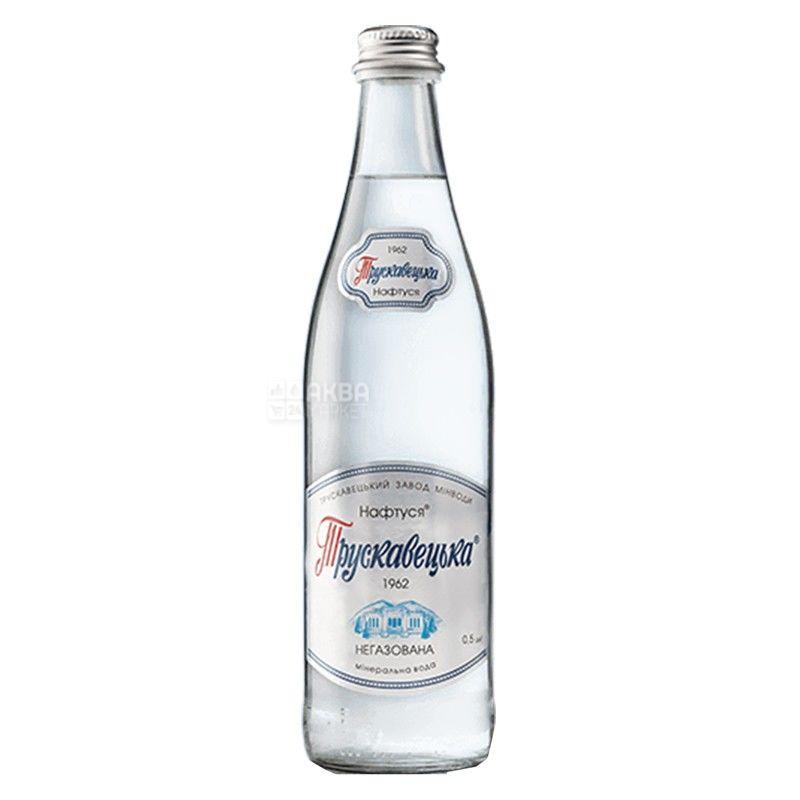 Трускавецька Нафтуся, 0,5 л, Упаковка 12 шт., Вода негазована, скло