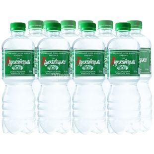 Трускавецька, упаковка 12 шт. по 0,5 л, слабогазована вода, Нафтуся, ПЕТ