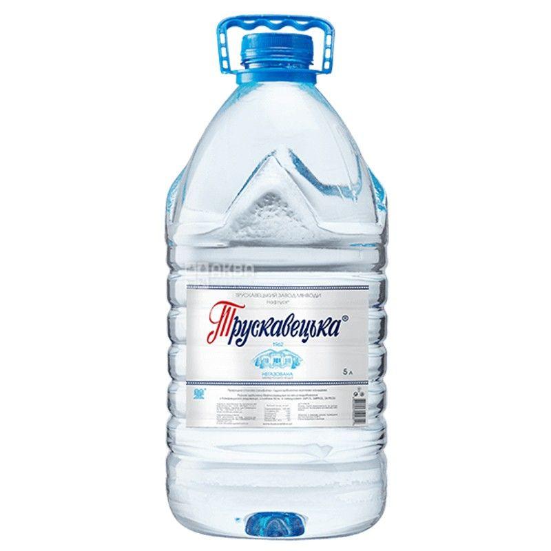 Трускавецька Нафтуся, 5 л, Упаковка 10 шт., Вода мінеральна негазована, ПЕТ