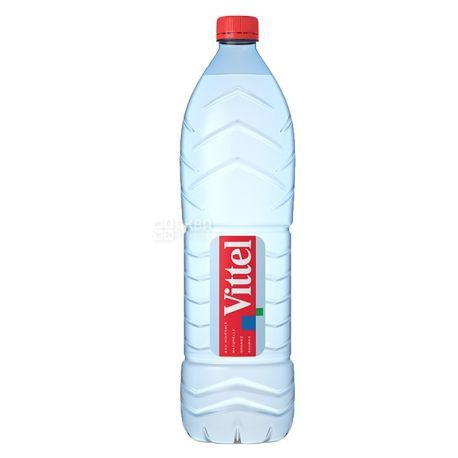 Vittel, Вода минеральная негазированная, 1,5 л, Упаковка 6 шт.