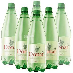 Donat Mg, 1 л, Упаковка 6 шт., Донат, Вода сильногазированная, с магнием, ПЭТ