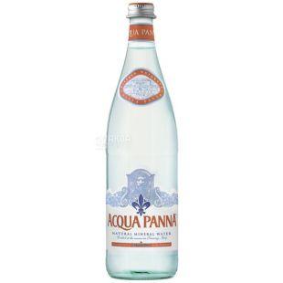 Acqua Panna, упаковка 12 шт. по 0,75 л, негазированная вода, стекло