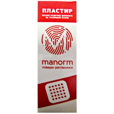 Manorm, 10 pcs., Plaster, Fabric, m / y
