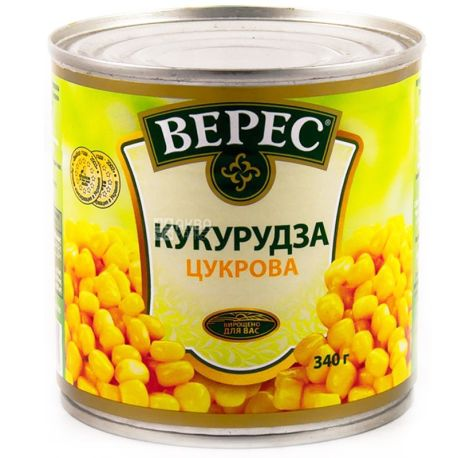 Верес, 340 г, кукурудза, цукрова