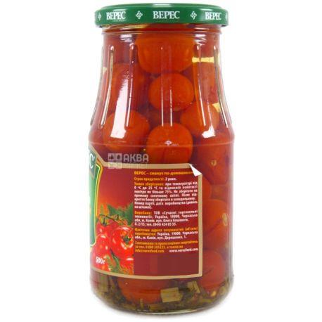 Верес, 500 г, томати чері, мариновані