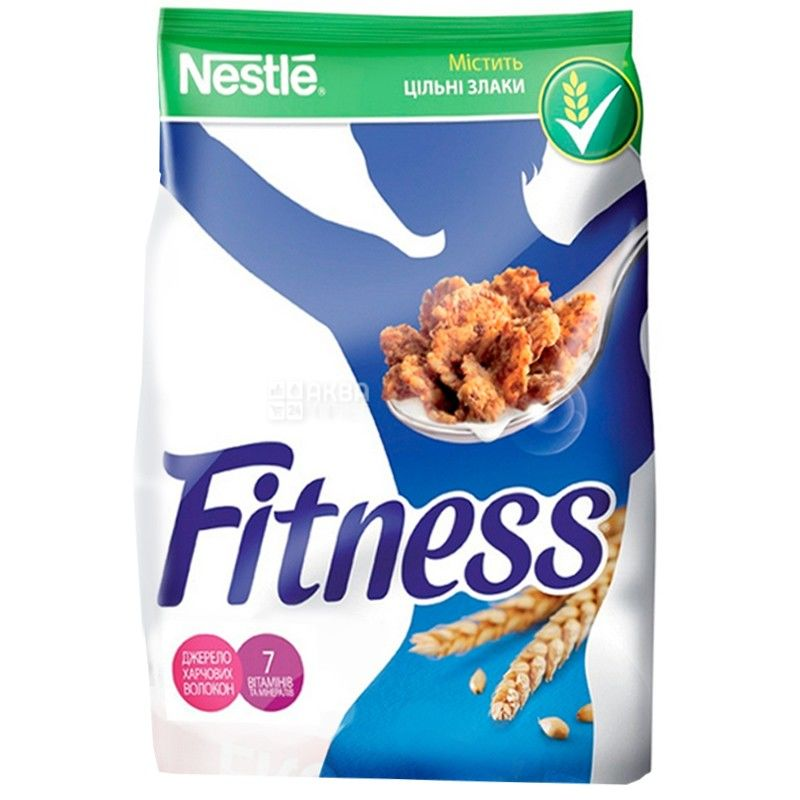 Nestle, 450 г, готовий сніданок, Fitness