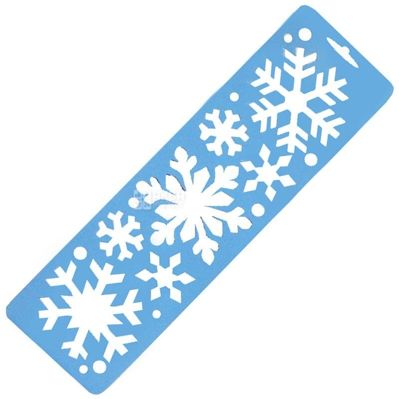 Amscan, трафарет-декорація, Сніжинки, м/у